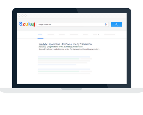 Reklama w wyszukiwarce